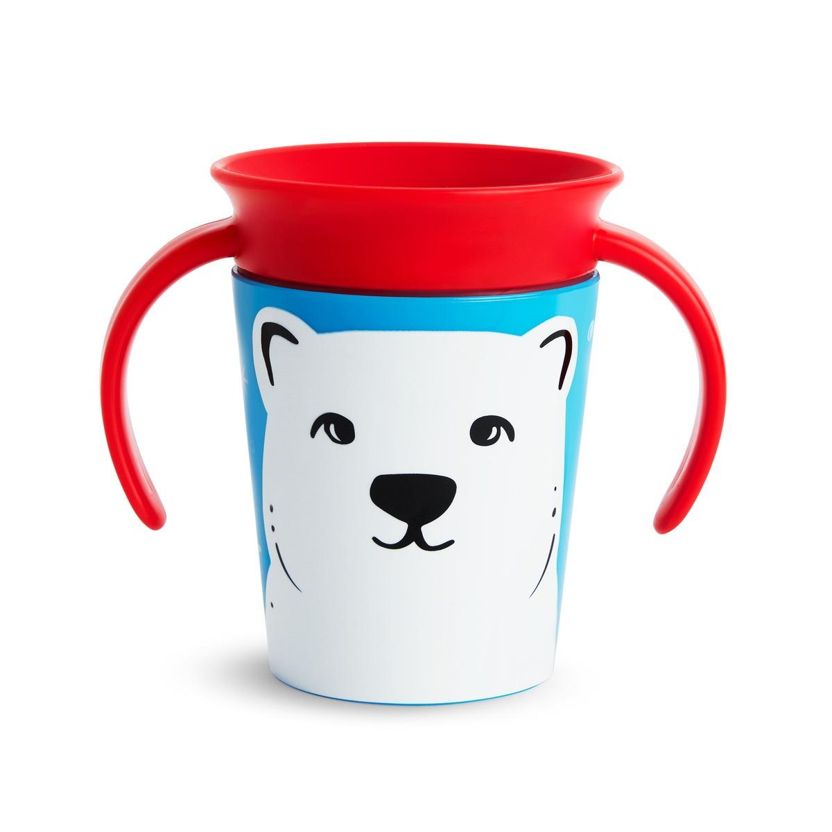Miracle Trainer Cup 177ml - Munchkin - Polar bear