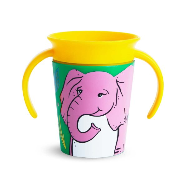 Miracle Trainer Cup 177ml - Munchkin - Elephant