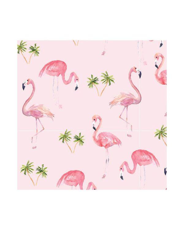 Πάνα αγκαλιάς, μουσελίνα, 1,20Χ1,20 - Stephen Joseph - Flamingo