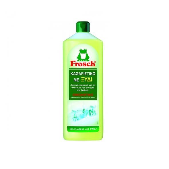 Υγρό γενικού καθαρισμού με ξύδι - Frosch