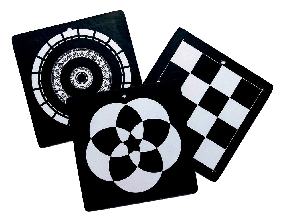 Ασπρόμαυρες κάρτες παρατήρησης για βρέφος 2