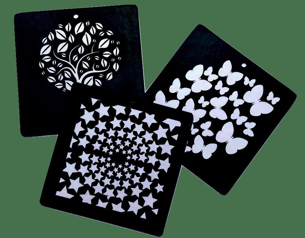 Ασπρόμαυρες κάρτες παρατήρησης για βρέφος 1