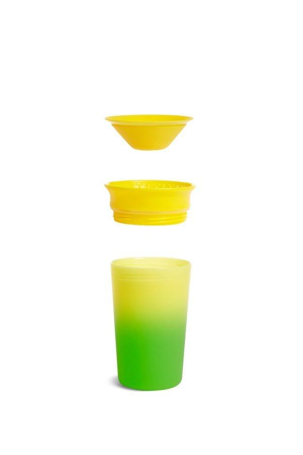 Ποτήρι 360ο, Colour changing Miracle cup - Munchkin