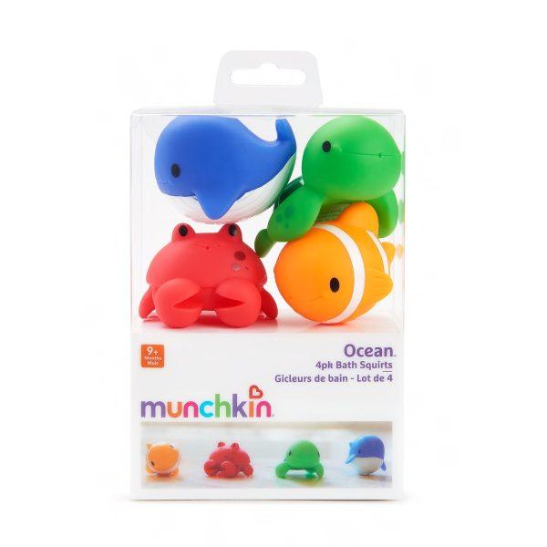 Παιχνίδι μπάνιου Χ 4, Ocean - Munchkin