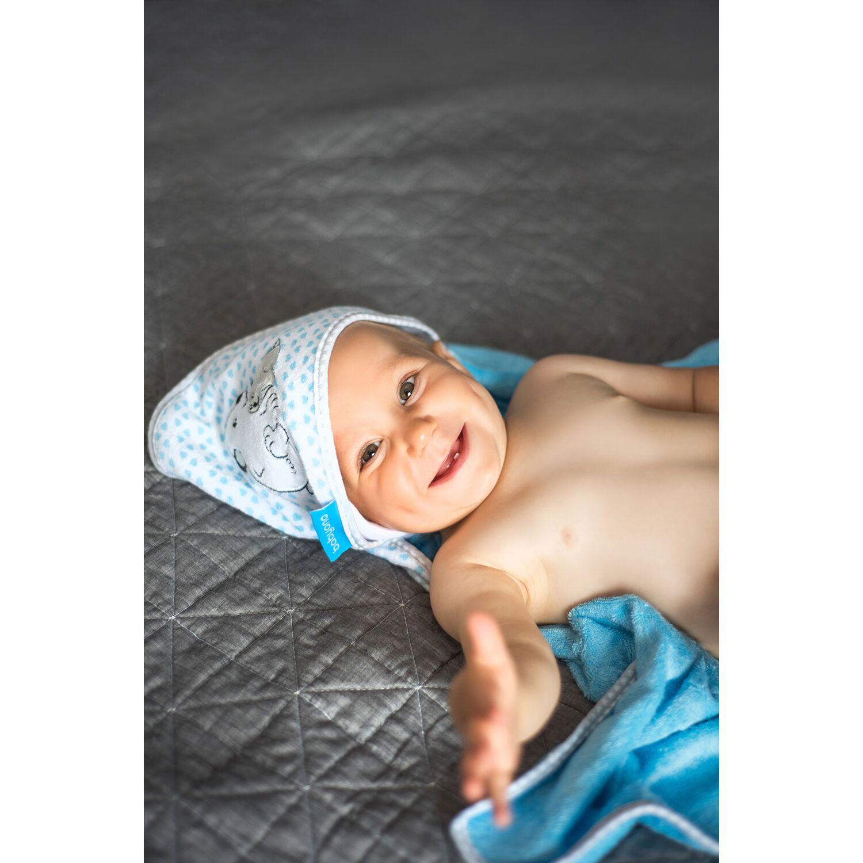 Πετσέτα από μπαμπού, με κουκούλα, 76Χ76εκ. - BabyOno