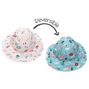 Καπέλο Διπλής Όψης UPF 50+, Zoo – FlapJackKids