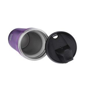 Θερμός για καφέ, ανοξείδωτο, με πλαστικό εξωτερικά, 420ml – Ecolife