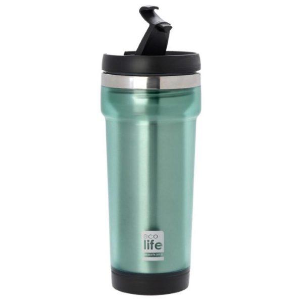 Θερμός για καφέ, 420ml, Ecolife - Γαλάζιο