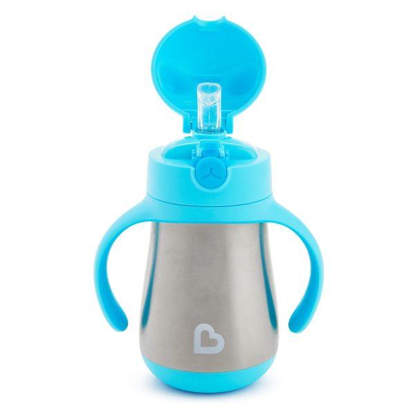 Μπουκάλι- θερμός, 237ml, - Cool Cat, Munchkin - Γαλάζιο