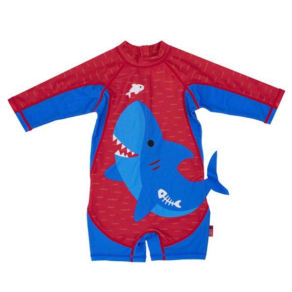 Αντηλιακό μαγιό UPF50 - Surf suit - Zoocchini - Καρχαρίας
