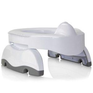 Γιο-γιο ταξιδιού και εκπαιδευτικό κάθισμα τουαλέτας 2 σε 1 Potette Plus Premium