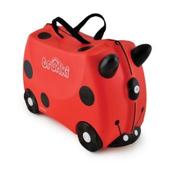 Βαλίτσα ταξιδίου Trunki- Harley ladybird