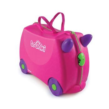 Παιδική βαλίτσα ταξιδίου TRUNKI - trixie pink