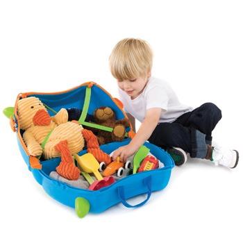 Παιδική βαλίτσα TRUNKI - Terrance Blue