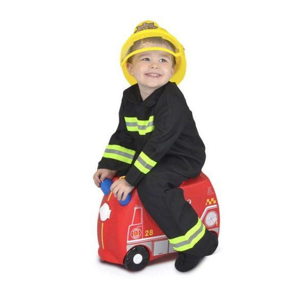 Βαλίτσα ταξιδίου Trunki - Frank the fire engine