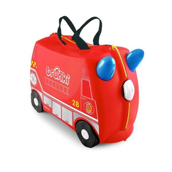 Βαλίτσα ταξιδίου Trunki- Frank the fire engine