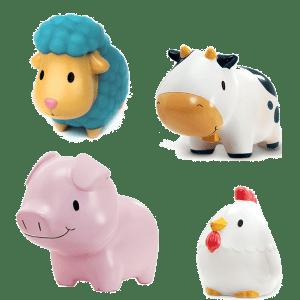 Παιχνίδι μπάνιου Χ 4 – Farm – Munchkin