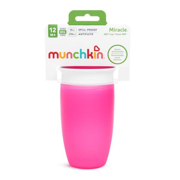 Ποτήρι 360o miracle sippy cup - munchkin φουξ