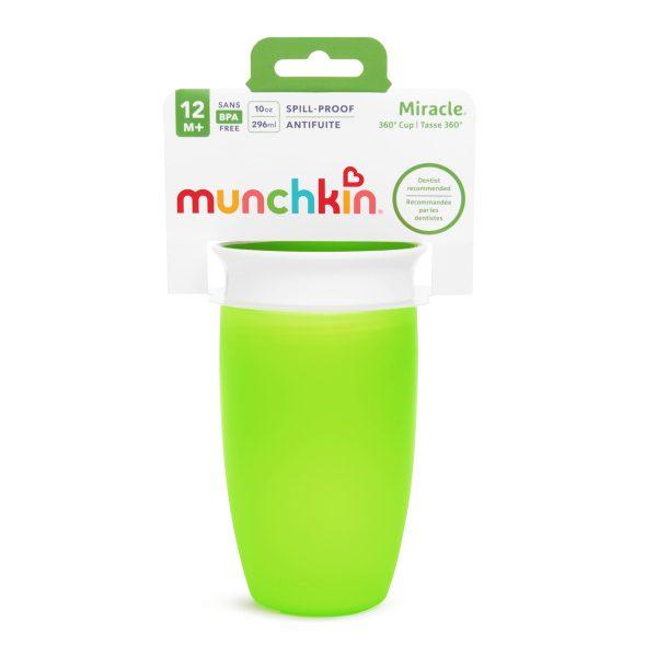 Ποτήρι 360o miracle sippy cup - munchkin πράσινο