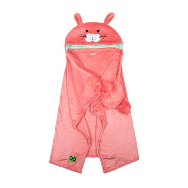 Παιδική κουβέρτα ZOOCCHINI - κουνελάκι